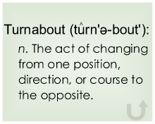 Definition of Turnabout